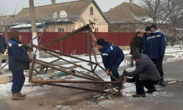 В Арцизе по просьбе жителей демонтировали автобусную стоянку (фотофакт)