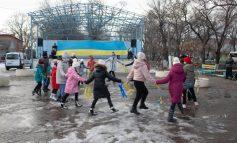Арцизская громада отметила день Соборности Украины детскими флешмобами