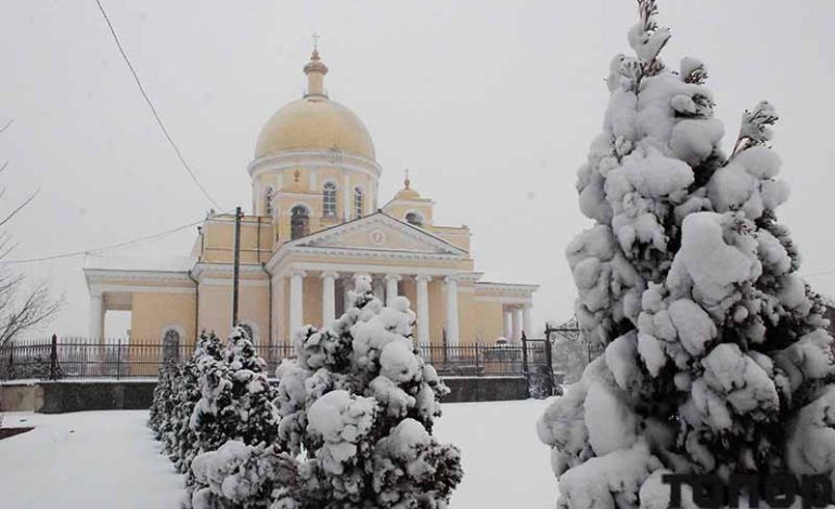 Самый снежный день в Болграде (фото)