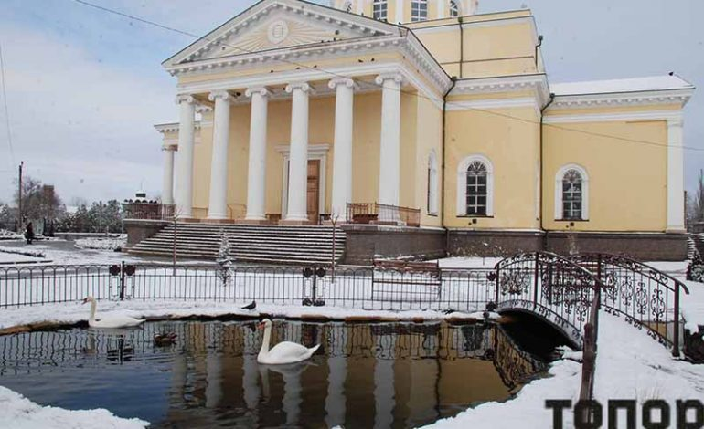 Болград: зима и весна в один день (фото)
