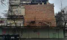 Рухнувший дом на улице Канатной почти восстановили (фото)