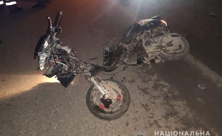 На трассе Одесса-Рени произошло смертельное ДТП – столкнулись мопед и легковушка