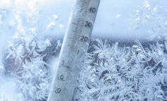 Крещенские морозы: в Сарате сегодня холоднее всего