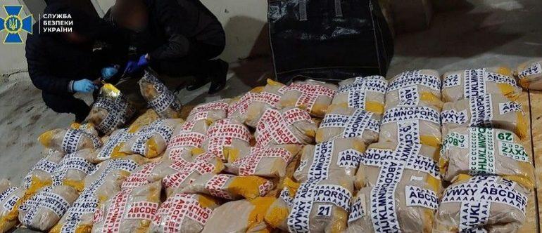 Наркодельцы ввезли через Одесский порт более тонны героина для переправки в Евросоюз