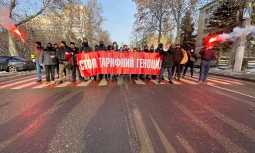 В Одессе активисты перекрывали проспект Шевченко