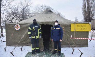 В Одесской области из-за похолодания спасатели разворачивают пункты обогрева