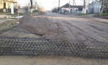 В Килии строят дорогу