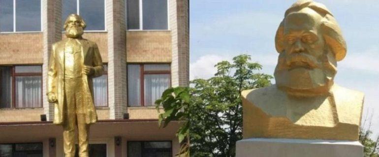 Декоммунизаторы требуют снести памятники Карлу Марксу в Арцизской громаде