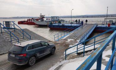 В Одесской области украинско-румынскую границу на пароме в Орловке пересек первый легковой автомобиль