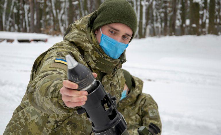 Минометчики Измаильского погранотряда повышают боевую подготовку в Оршанце (фото)