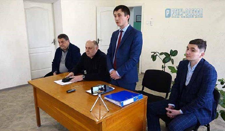 Коллективу Ренийского порта представили нового руководителя