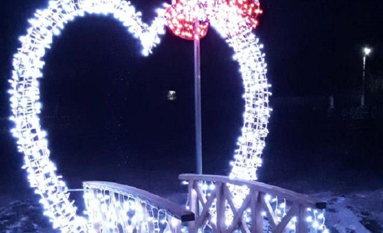 В одном из сел Арцизской ОТГ появилось светящееся сердце