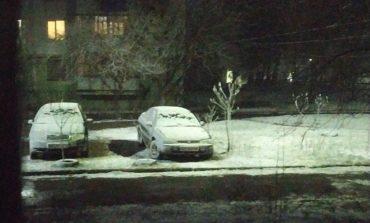 В Арциз снова вернулась зима (фотофакт)