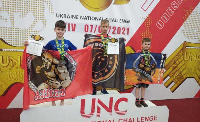 Килийские борцы привезли чемпионские титулы из чемпионата Украины