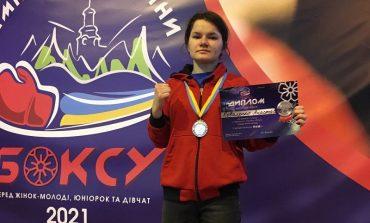 Школьница из Арциза завоевала серебро на Чемпионате Украины по боксу