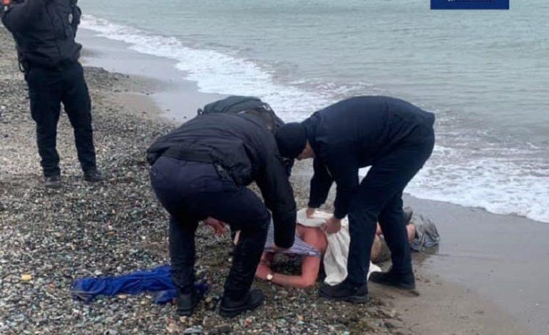 В Одессе человек едва не утонул, при попытке убежать от полиции