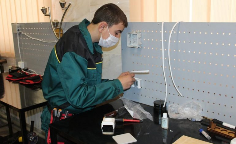 В Белгород-Днестровском строительном  лицее  работает  центр по подготовке новых строительных специальностей