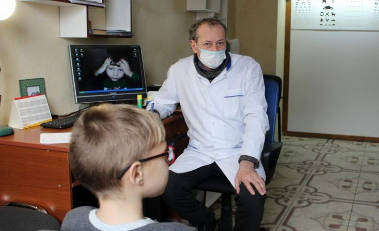 Бесплатный медосмотр провели детям с инвалидностью в Белгороде-Днестровском