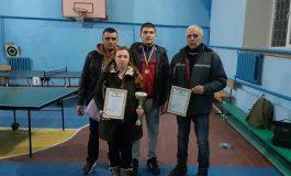 Теннисистка из Арциза заняла первое место на открытом памятном турнире