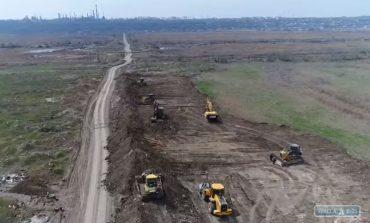 Дорога в Одесский порт: старт строительства