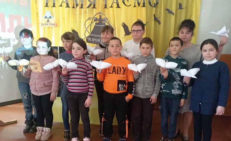 В Голице Болградского района вспоминали Чернобыльскую трагедию