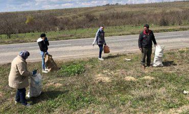 В Болградском районе жители выходят на субботники