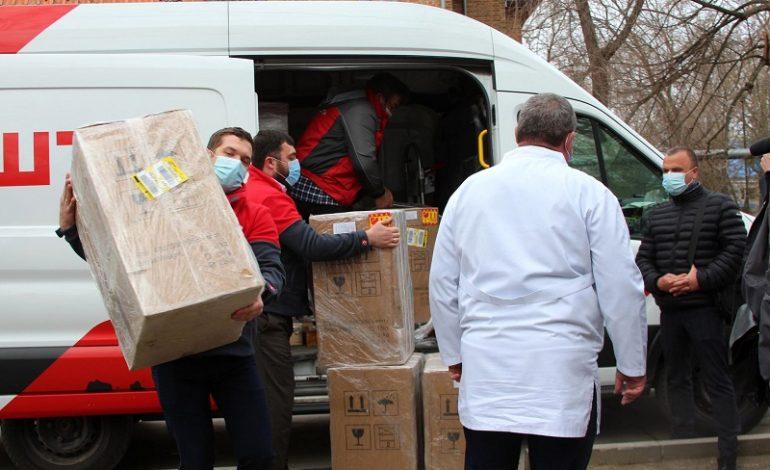 Как сообща благоустраивают центральную больницу в Белгороде-Днестровском