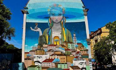 На стене одесской школы нарисует картину известный французский стрит-арт художник