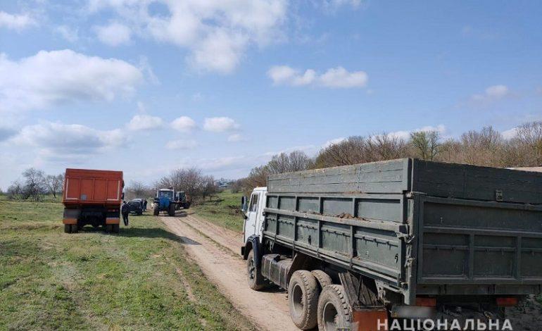 В Болграде частное предприятие незаконно добывало чернозем