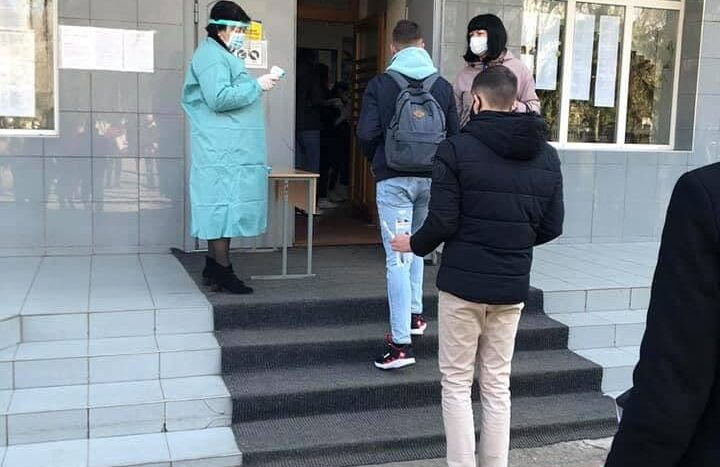 В Одессе прошло пробное ВНО