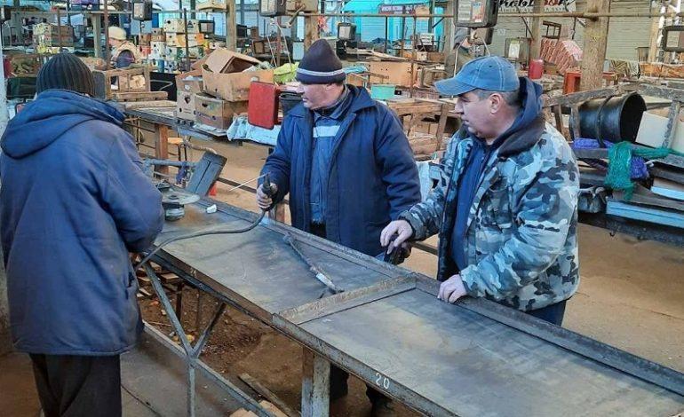 На Белгород-Днестровском центральном рынке начался  ремонт