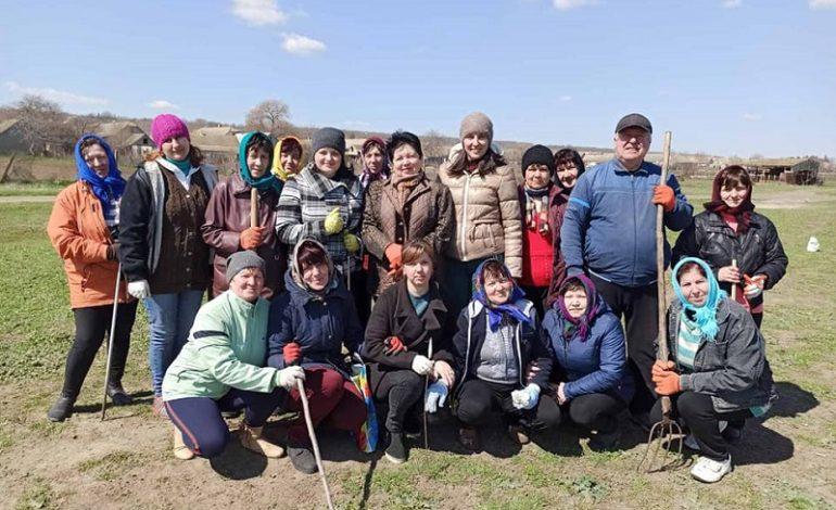 В Арцизской громаде провели субботники (фото)