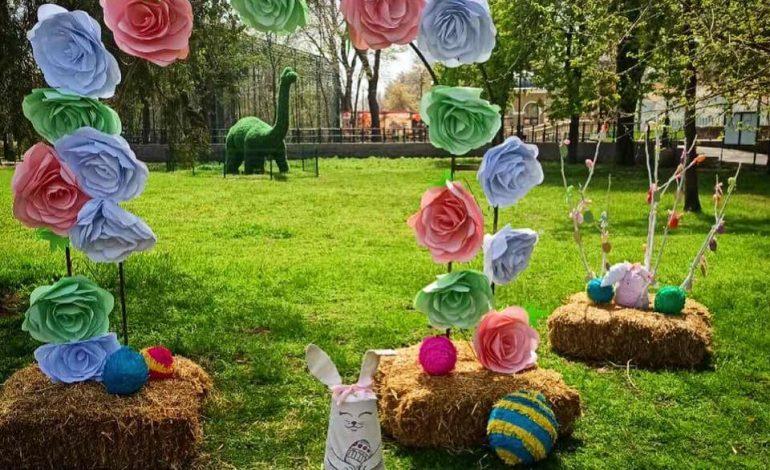 Одесский зоопарк традиционно подготовил сюрпризы к пасхальным праздникам