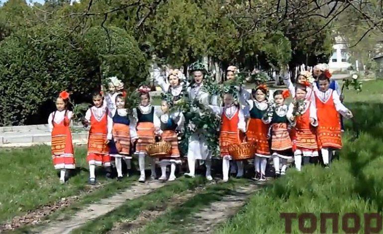 В Болградской громаде старинный обряд перевели в Интернет