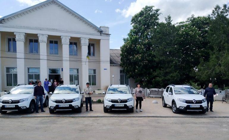 Старосты одной из громад Болградского района получили новые авто