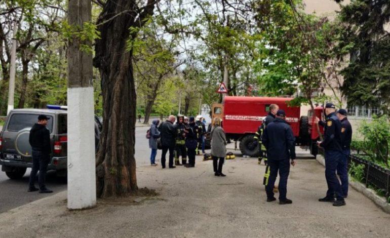 В Одессе горел госархив