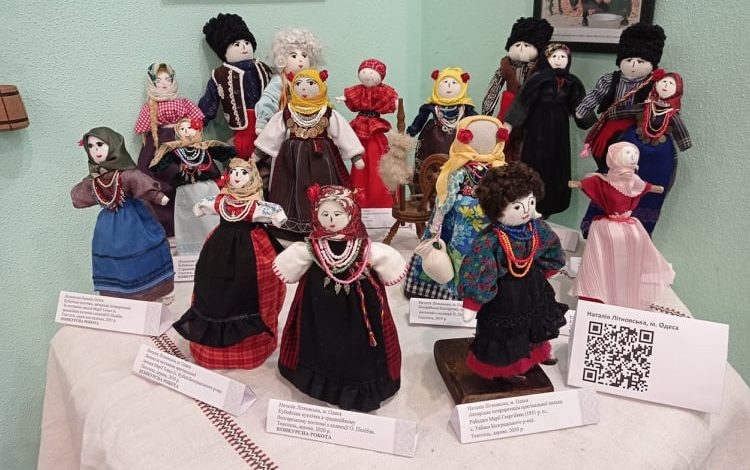 В Одессе представили коллекцию аутентичных кукол (ФОТО)