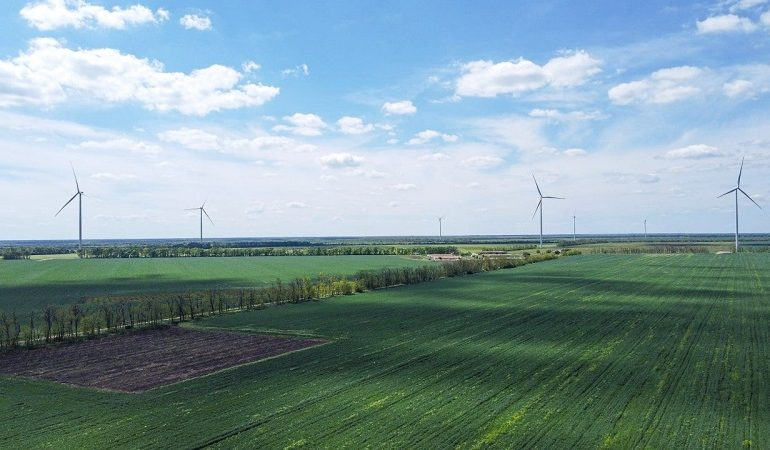 В Одесской области заработала Днестровская ветроэлектростанция