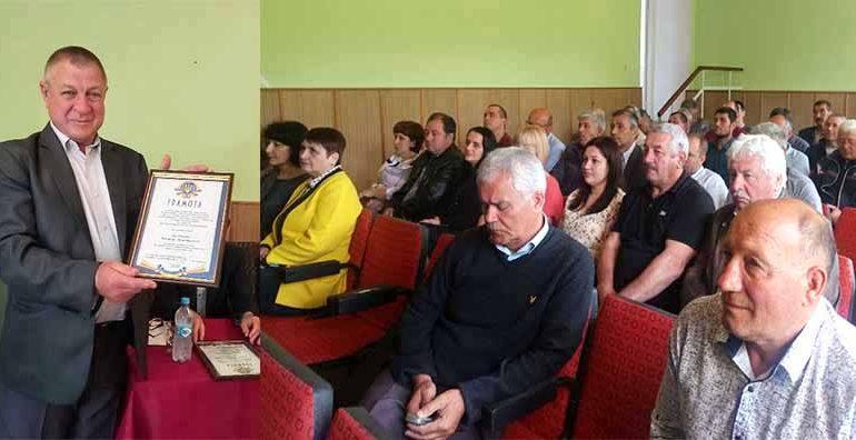 В Болграде поздравили мелиораторов