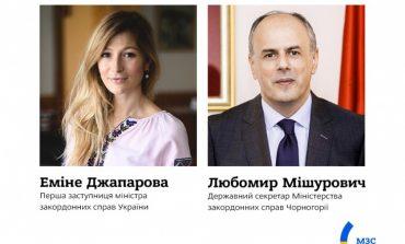 """Украина пригласила Черногорию на саммит """"Крымской платформы"""""""