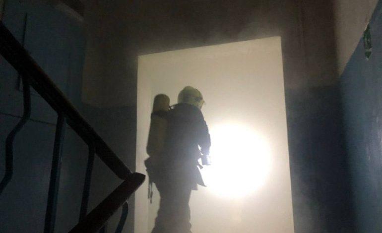 В Одессе на пожаре в университетском общежитии пострадал студент