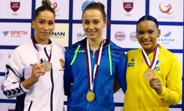 Сборная Украины по спортивной гимнастике вернётся из Катара с золотыми и серебряными медалями
