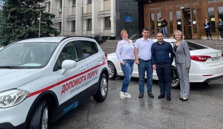 В Саратской громаде появился новый спецавтомобиль для семейной медицины