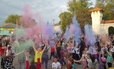 В Арцизе устроили разноцветный праздник (фото)