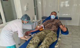 В Одесской области пограничники символично отметили День донора