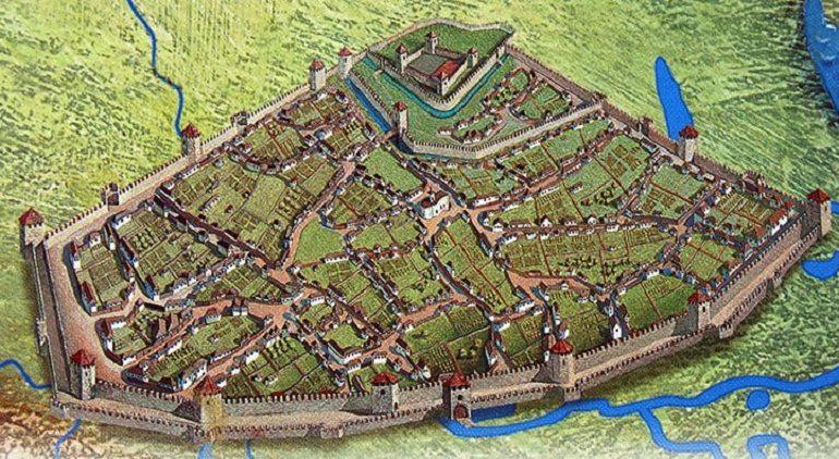 В самом древнем городе Украины обнаружили уцелевший фрагмент старинной крепости