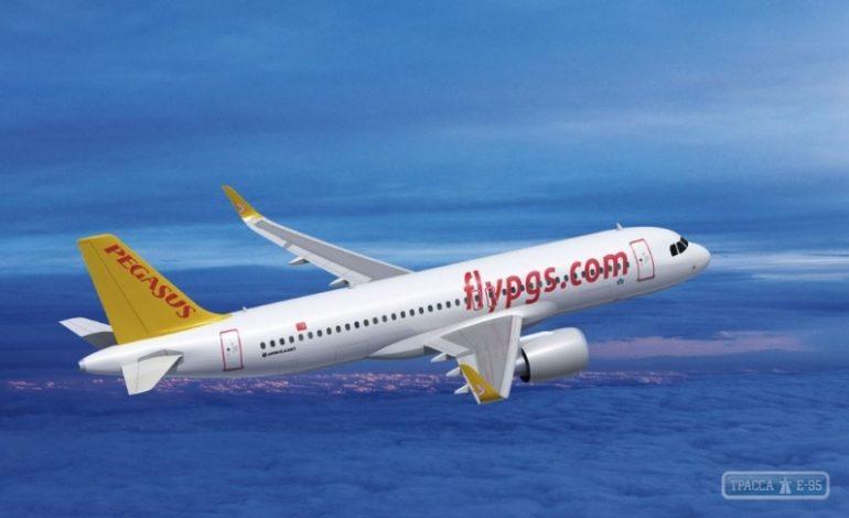 Турецкий лоукостер возобновляет рейсы между Одессой и столицей Турции