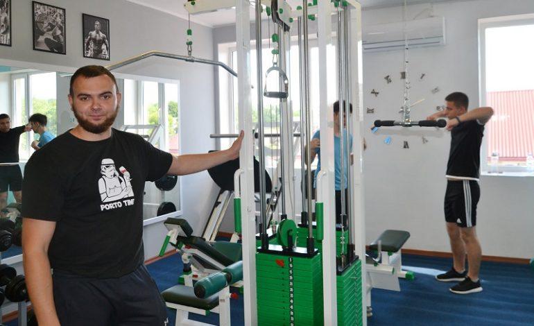 В Тарутино открыли современный спортзал (фото)
