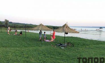 В Болграде вспомнили о пляже только в середине лета