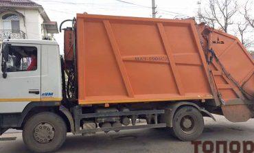В Болграде покупке мусоровоза помешал языковой вопрос